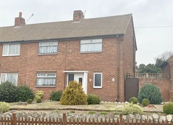 Thumbnail 2 bed semi-detached house for sale in Keats Crescent, Worksop, Nottinghamshire