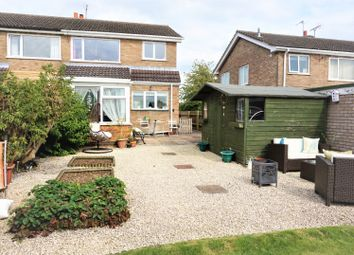 Thumbnail 3 bed semi-detached house for sale in Klondyke Way, Asfordby