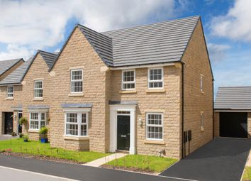 "Thumbnail 4 bed detached house for sale in ""Holden"" at Manywells Crescent, Cullingworth, Bradford"
