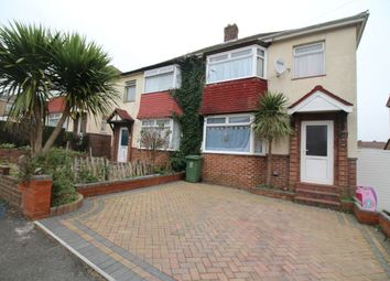 Thumbnail 3 bedroom semi-detached house for sale in Macaulay Avenue, Cosham, Portsmouth