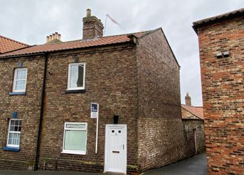 Thumbnail 1 bed end terrace house to rent in Church Hill, Malton
