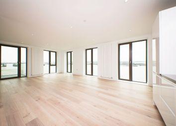Thumbnail 3 bedroom flat to rent in Kelson House, Royal Wharf, 10 Schooner Road, Pontoon Dock, London