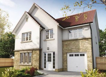"Thumbnail 4 bed detached house for sale in ""The Crichton"" at Hillview Gardens, Nivensknowe Park, Loanhead"