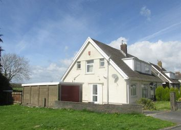 Thumbnail 2 bed semi-detached bungalow to rent in Woodfield Avenue, Pontlliw, Swansea