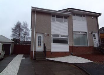 Thumbnail 2 bed semi-detached house for sale in 8 St. Leonards Walk, Carnbroe, Coatbridge