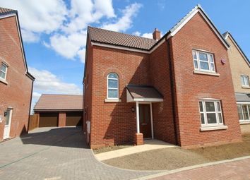 Thumbnail 4 bed detached house for sale in Plot 7, 'the Chancellors', Bedford Road, Moggerhanger