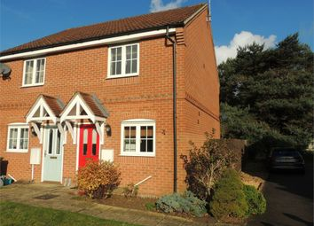 Thumbnail 2 bedroom semi-detached house for sale in Rosemary Way, Downham Market
