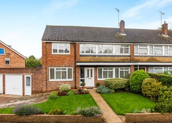 Thumbnail 4 bed end terrace house for sale in Lys Hill Gardens, Hertford