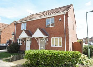 Thumbnail 2 bed semi-detached house to rent in Keel Close, Carlton Colvolle, Lowestoft