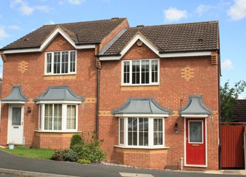 Thumbnail 3 bed semi-detached house to rent in Shireland Lane, Brockhill, Redditch