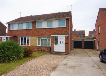 Thumbnail 3 bedroom semi-detached house for sale in Radley Close, Swindon