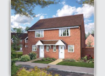 "Thumbnail 2 bed semi-detached house for sale in ""The Pensham"" at Defford Road, Pershore"