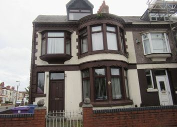 Thumbnail End terrace house for sale in Queens Drive, Stoneycroft, Liverpool