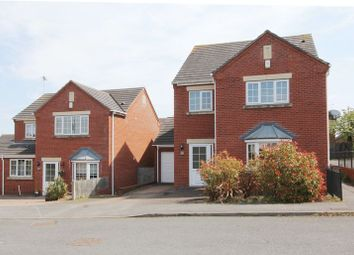 Thumbnail 4 bedroom detached house to rent in Loake Court, Melbourne, Derbyshire