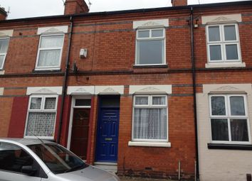 Thumbnail 2 bed terraced house for sale in Dannett Street, Off Tudor Road, Leicester
