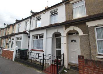 Thumbnail 3 bedroom terraced house to rent in Gordon Road, Northfleet, Gravesend, Kent