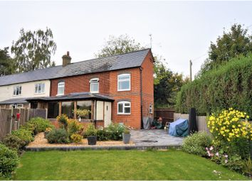 Thumbnail 3 bed semi-detached house for sale in Woods Lane, Cliddesden