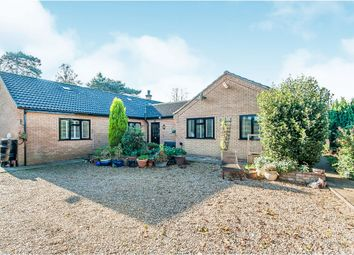 Thumbnail 5 bed detached bungalow for sale in Church Road, Emneth, Wisbech