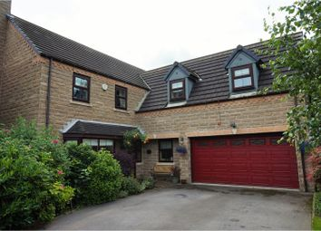 Thumbnail 5 bedroom detached house for sale in Mereside, Huddersfield