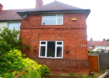 Thumbnail 2 bed end terrace house for sale in Seaton Crescent, Aspley, Nottingham