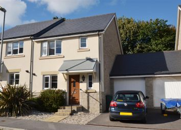 Thumbnail 3 bed semi-detached house for sale in Trelowen Drive, Penryn