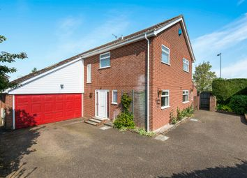 Thumbnail 5 bed detached house for sale in Hewitts Lane, Wymondham