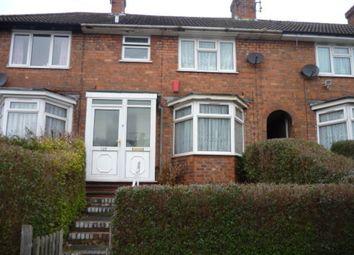 Thumbnail 3 bedroom terraced house for sale in Hawkesyard Road, Erdington, Birmingham