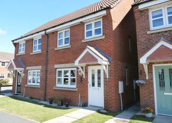 Thumbnail 2 bed semi-detached house for sale in Ladyburn Way, Hadston, Morpeth