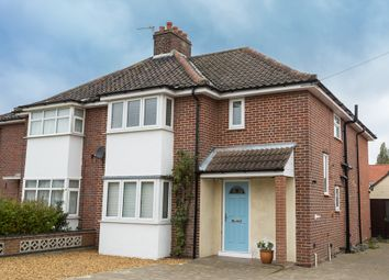 Thumbnail 3 bed semi-detached house for sale in Jubilee Road, Sprowston, Norwich