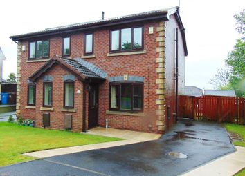 Thumbnail 3 bed semi-detached house for sale in 2 Charles Shaw Close, Waterhead, Oldham