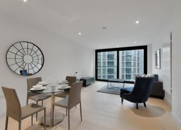 Thumbnail 2 bed flat to rent in Summerston House, Royal Wharf, London