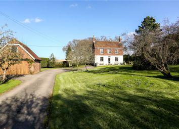 Thumbnail 5 bed detached house for sale in West Flexford Lane, Wanborough, Guildford, Surrey
