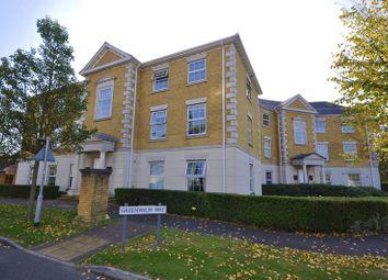 Thumbnail 2 bedroom flat to rent in Queen Elizabeth Court, Greenwich Way, Waltham Abbey