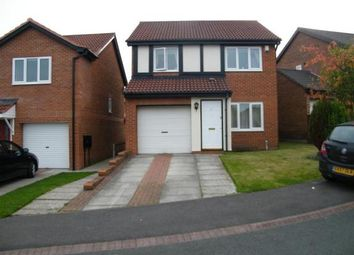 Thumbnail 3 bed detached house for sale in Hatfield Close, Framwellgate Moor, Durham, Durham