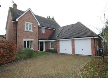Thumbnail 4 bed detached house to rent in Pinehurst Gardens, West Byfleet