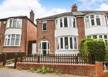 Thumbnail 3 bed semi-detached house for sale in Wentworth Road, Leicester