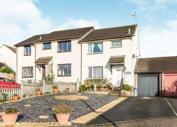 Thumbnail 3 bed semi-detached house for sale in Copplestone, Crediton, Exeter