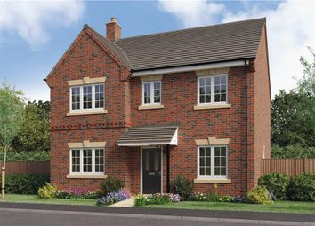 "Thumbnail 4 bed detached house for sale in ""Foxley"" at Woodcock Way, Ashby-De-La-Zouch"