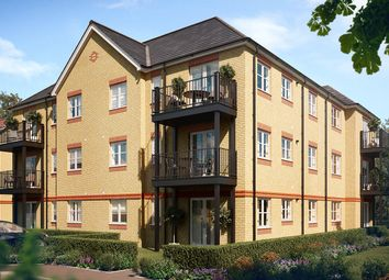 Thumbnail 1 bed flat for sale in Laburnam Way, Stanwell