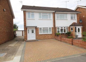 Thumbnail 3 bed semi-detached house for sale in Hope Avenue, Stanford-Le-Hope