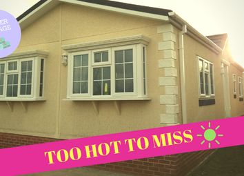 Thumbnail 2 bed mobile/park home for sale in Willow Brook, Deeside
