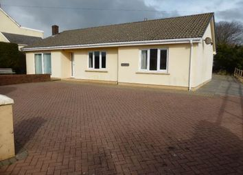 Thumbnail 3 bed bungalow to rent in Llansadurnen, Laugharne, Carmarthenshire