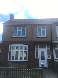 Thumbnail 3 bed semi-detached house to rent in Bright Street, Hartlepool, Hartlepool