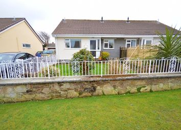 Thumbnail 2 bed semi-detached bungalow to rent in Victoria Gardens, Threemilestone, Truro