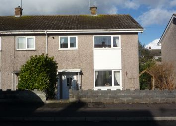 Thumbnail 2 bedroom end terrace house to rent in Lon Olchfa, Derwen Fawr, Sketty, Swansea