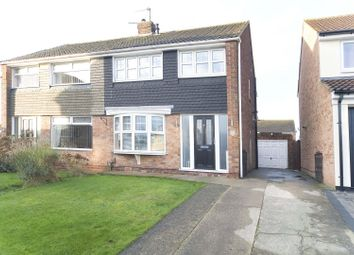 Thumbnail 3 bed semi-detached house for sale in Caistor Drive, Hartlepool