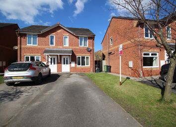 Thumbnail 2 bed semi-detached house for sale in Saunton Close, Winsford