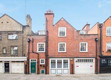 Devonshire Close, London W1G. 4 bed mews house