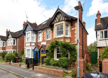 Thumbnail 4 bedroom semi-detached house for sale in Belle Avenue, Reading