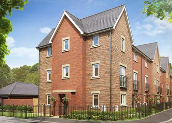 "Thumbnail 3 bedroom town house for sale in ""The Ash "" at Brickburn Close, Hampton Centre, Peterborough"